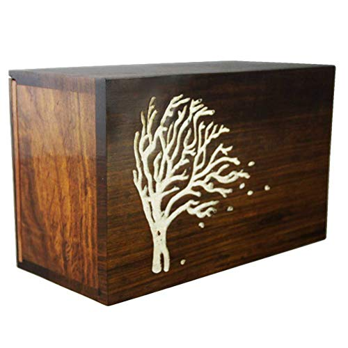 MEILINXU Wooden Funeral Urn