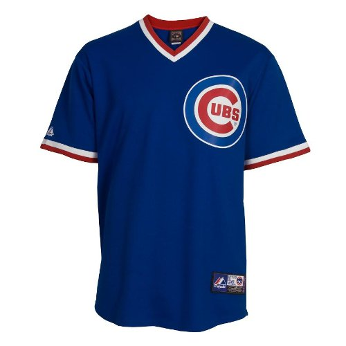 Majestic MLB Baseball Trikot/Jersey Chicago Cubs #8 Ryne Sandberg Cooperstown in S (SMALL)