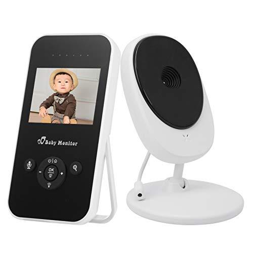 Monitor de Temperatura inalámbrico para bebés en 9 Idiomas para bebés(European Standard (100-240v))