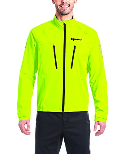 Gonso Herren Halit Allwetter-Jacke, Safety Yellow, 3XL