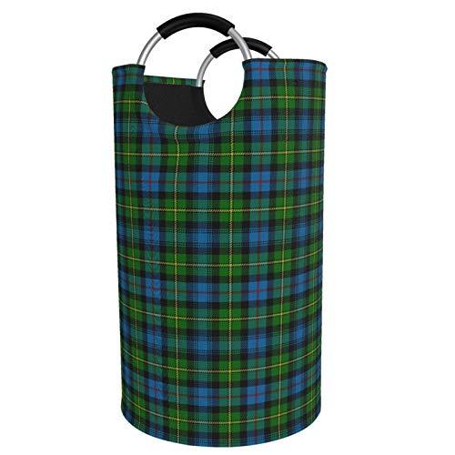 Cesta plegable de tamaño grande para la colada, cubo Macleod of Skye Tartan sucio, cesta de almacenamiento para colección de juguetes, tela Oxford con diseño elegante