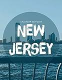 New Jersey Calendar 2021-2022: Monthly Calendar & Planner 2021-2022