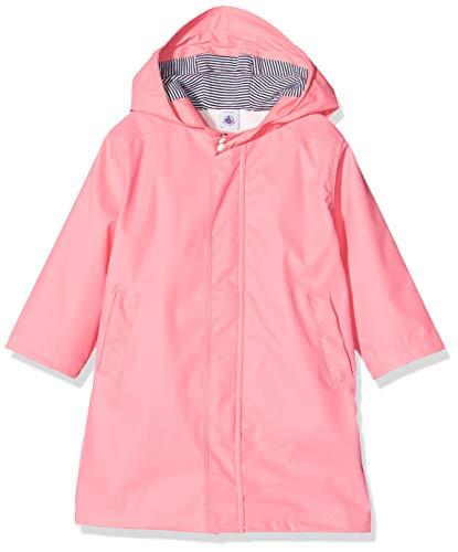 Petit Bateau Mädchen 5342802 Regenmantel, Pink (Cupcake 175), 5 Jahre