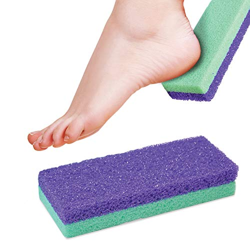 Maccibelle Salon Foot Pumice and Scrubber for Feet and Heels Callus and Dead Skins, Safely and Easily eliminate Callus and Rough Heels (Pack of 1)