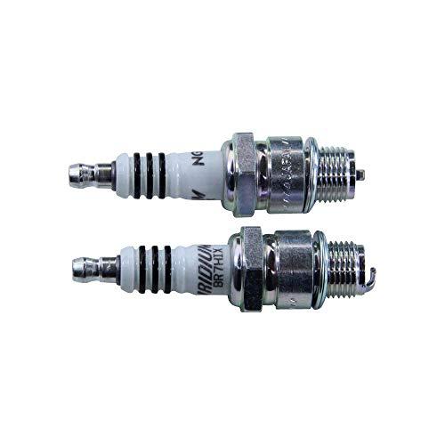 NGK BR7HIX / 7067 NGK - Candela di accensione in iridio, 2 pezzi