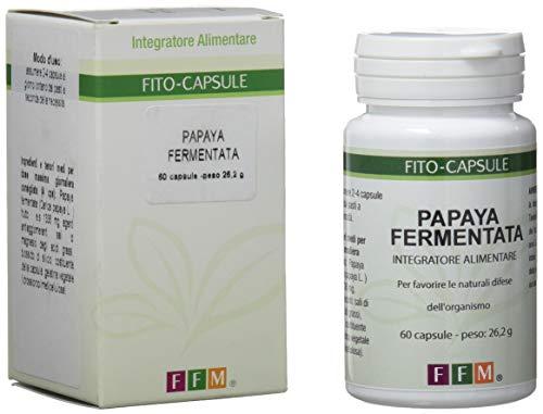 Fitofarmaceutica Papaya Fermentata - 60 Capsule Gelatina Vegetale
