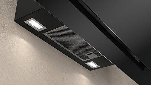 Neff D95IPP1N0 Dunstabzugshaube schräg N70 / 90cm / Abluft oder Umluft / EfficientDrive / TouchControl / Energieeffizienz A / Klarglas / schwarz - 9