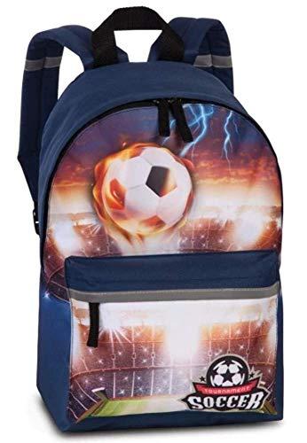 Fabrizio Soccer Football Kinder Rucksack Marine blau 20600-0600