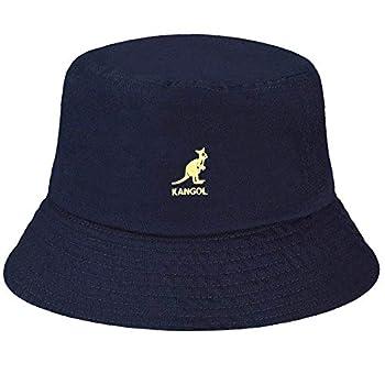 Kangol Washed Bucket Hat Navy Small