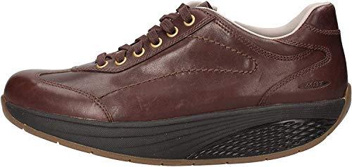 MBT Pata Classic Zip, Zapatillas para Mujer, Marrón (Black Coffee), 36 EU