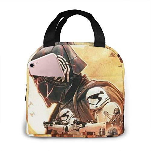 Bolsas de almuerzo Unisex para niños y adultos reutilizables Star-Wars, bolsas portátiles con aislamiento, cajas Bento niñas el trabajo, la escuela, los viajes