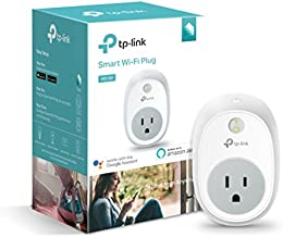 Kasa Smart (HS100) Plug by TP-Link, Smart Home WiFi Outlet Works with Alexa, Echo, Google Home & IFTTT, No Hub Required, Remote Control, 15 Amp, UL Certified, 1-Pack