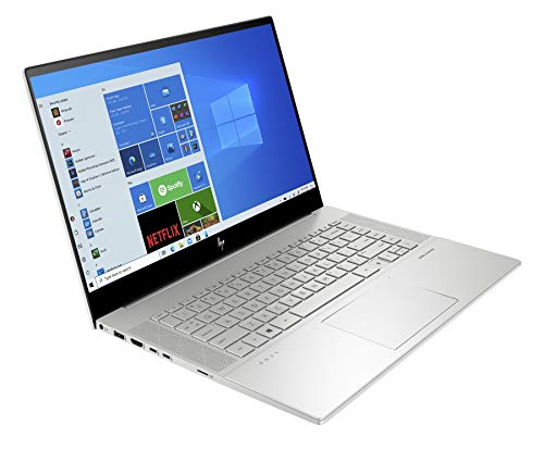 HP Envy 15-ep0011na 15.6-inch Full HD Touchscreen Laptop Natural Silver - Intel Core i7-10750H, NVIDIA GeForce GTX 1660 Ti, 6 GB Dedicated Graphics, 16 GB RAM, 512 GB SSD, Windows 10 Home