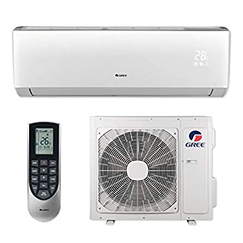 GREE 18,000 BTU 20 SEER Vireo+ Wall Mount Ductless Mini Split Air Conditioner Heat Pump 208/230V - Built-in Wi-Fi