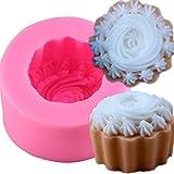 Abcidubxc - Stampo in silicone irregolare, per sapone, saponi fatti a mano, in silicone, decorazione per cioccolato