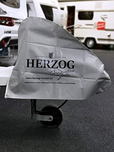 Herzog Deichselhaube Wohnwagen Anhänger Plane Deichselschutz Anhängertypen Anhängerkupplung Abdeckung Deichselabdeckung PVC Folie Deichselschutzhülle