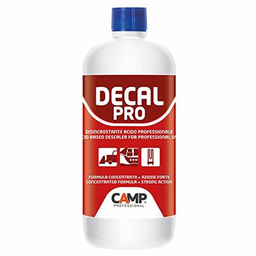 CAMP Decal PRO Acido Professionale disincrostante per Pulizia Pavimenti Malta ruggine 1 lt.