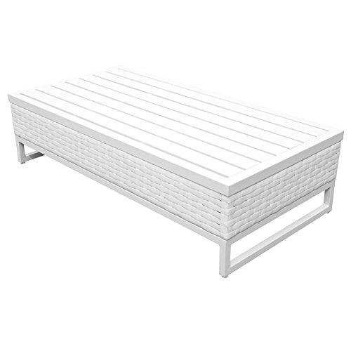 TK Classics TKC047b-CT Miami Seating Patio Furniture, Timeless White