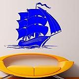 guijiumai Calcomanías de Pared para Barcos Vinyl Decal Sticker Murals Sea Boat...