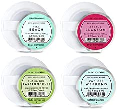 Bath and Body Works 4 Pack Summer Favorites Scentportable Fragrance Refill. 0.2 Oz.