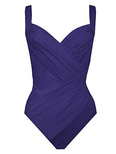 Miraclesuit 1 piece Purple Swimsuit Must Have Caliente