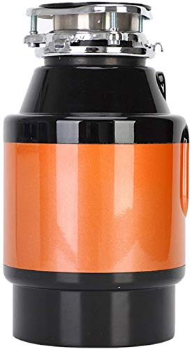 ZKHD Kompakter Nahrungsmittelabfälle, 3400 RPM DC Permanent Magnet Motor Lebensmittel Rückstand Shredder Multiple Silent Design 750W