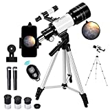 Best Kids Telescopes - Telescope for Kids &Adults &Beginners,70mm Aperture 300mm AZ Review