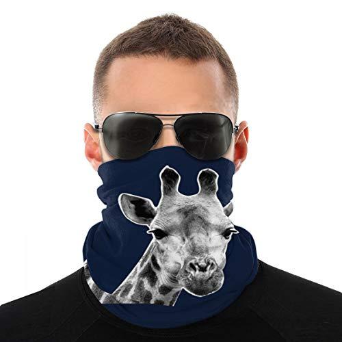 Ohrring, Giraffe, staubdicht, Kopfbedeckung, Bandana, Sturmhaube für Radfahren, Laufen, Wandern, Wandern
