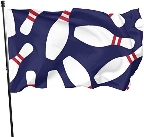 Flagge Dekorative Hausflaggen Garden Flag Patry Flag Outdoor Flag Weather Resistant Bowling Garden Flag Game Flag 3 X 5 Ft