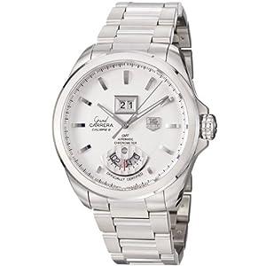 TAG Heuer Men's WAV5112.BA0901 Grand Carrera Grand Date GMT Watch image