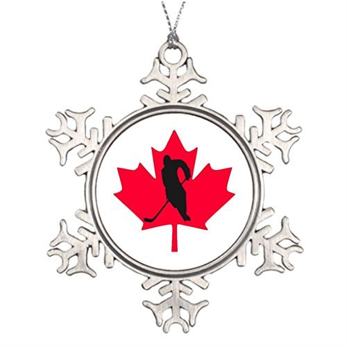 VinMea Snowflake Metal Ornament Ideas for Decorating Christmas Trees Canada Stained Glass Christmas Snowflake Ornaments