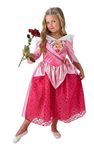Rubies Officielle Shimmer Sleeping Beauty Filles Déguisement Disney Conte de fées Costume pour Enfant