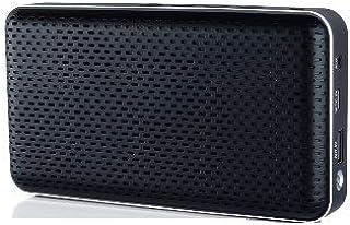 Eugizmo Jive Bluetooth Audio Speakers- Multi Point Pairing, Black