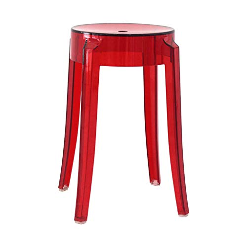 PLL Plastic Barkruk Transparant Dikke Acryl Eetstoel Crystal Barkruk Bar kruk Home Chair Creatieve High Bar kruk