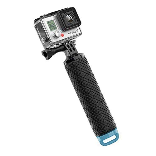 Navitech Waterproof Action Camera Floating Hand Tripod Mount & Floating Handle Grip Compatible with The Olympus TG-Tracker