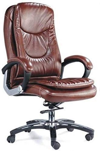 MezoniteHigh Back Brown Leatherette Office Executive Chair
