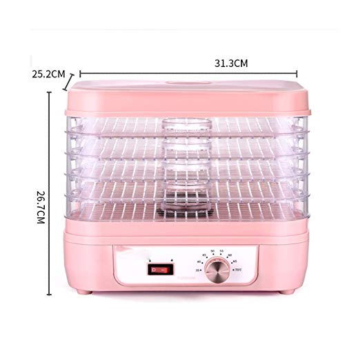Amazing Deal PDGJG Fruit Dryer Dehydration Air Dryer Fruit and Vegetable Pet Meat Food Dryer Househo...