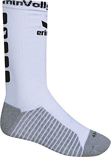 Erima MT Melsungen 5-Cube Socke kurz Herren Kinder weiß schwarz Gr 39-42