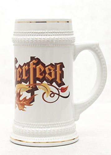 Jarra de cerveza de cerámica, diseño personalizado, diseño con logotipo.