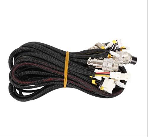 Accesorios para impresoras 10D,Cable de extensión de impresora 3D, cable de accesorios de impresora 3D trenzado, para CR-10s