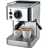 JGSDHIEU Cafetera eléctrica Máquina de Espuma de Leche Oficina Estilo Italiano 19bar 25 Segundos...
