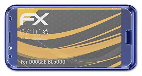 atFolix Panzerfolie kompatibel mit DOOGEE BL5000 Schutzfolie, entspiegelnde & stoßdämpfende FX Folie (3X)