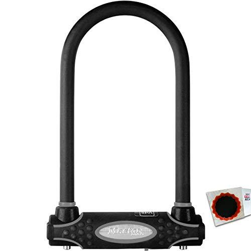 keine Angabe Master Lock Bügelschloss 8195 13mm x 210mm x 110mm Schlüssel schwarz 1,05kg