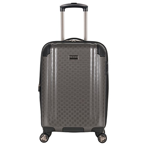 Ben Sherman Carlisle 20' Hardside Expandable 8-Wheel Spinner Carry-on Luggage, Charcoal
