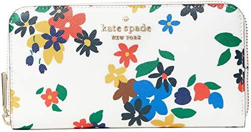 Kate Spade New York Jackson Large Continental Wallet, Leila Warm Beige Colorblock