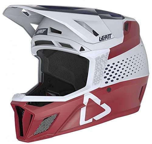 Leatt Casque MTB 8.1 Casco de Bici, Unisex Adulto, Rouge Chilli, Medium