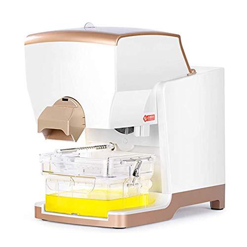 LOVEHOUGE Máquina automática de Prensa de Aceite Inteligente Extractor de Aceite de Control pequeño Expulsor de frío y Calor para el hogar y Comercial con Dispositivo de Filtro