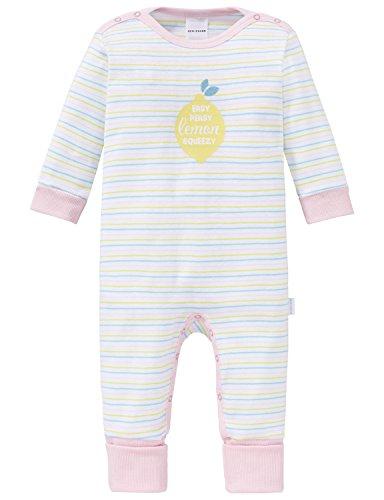 Schiesser Schiesser Unisex Baby Schlafanzug Strampler Body, weiß (weiss 100), 062