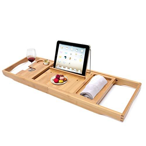 Soporte para tablets de bambú