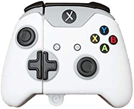 Best Airpods Case,Xbox One S Game Controller Case for Airpods 1&2,Xbox One x Controller Silicone Case Compatible with Apple Airpods 1&2,Cool Funny Fashion Shockproof Cover for Airpod (White Controller) Review